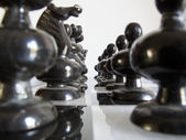 Chess formation — Stockfoto