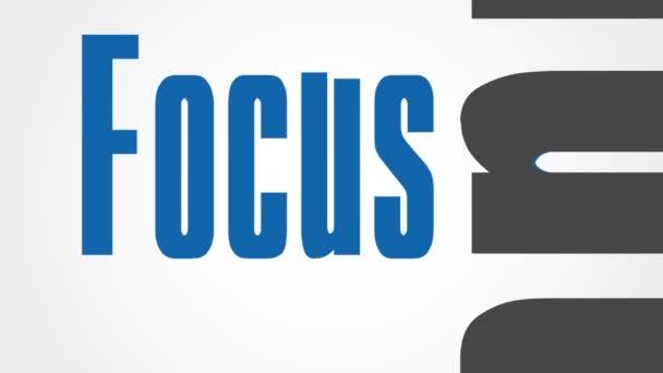 Mots de motivationnels et d'affaires — Vidéo