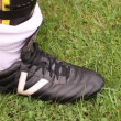 Stock Video: Soccer outfit.