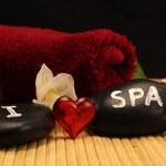I love spa — Stock Photo