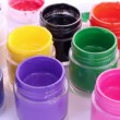 ストックビデオ: Jars with different colors
