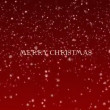 Stock Video: Background Animation of Marry Christmas and Happy New Year - red