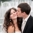 Wedding couple — Stock Photo #13962924