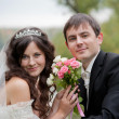 Wedding couple — Stock Photo #13963300