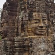 Closeup of part of Angkor wat temple — Stock Photo