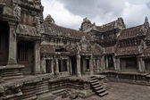Territory of Angkor wat Cambodia — Stock Photo