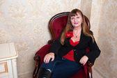 Donna senior — Foto Stock