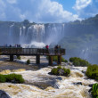 Awesome Iguazu Falls in Brazil — Stock Photo #41477251