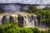 Beautiful cascade of waterfalls. — Stock Photo