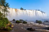 Teilansicht des Iguazu fällt in Brasilien — Stockfoto