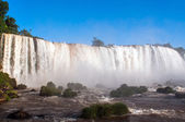 Closeup view of Iguassu Falls in Brazil — Stock Photo