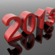 New year 2013 in numbers — Stock Photo