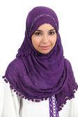 Portrait of a muslim woman — Stock Photo