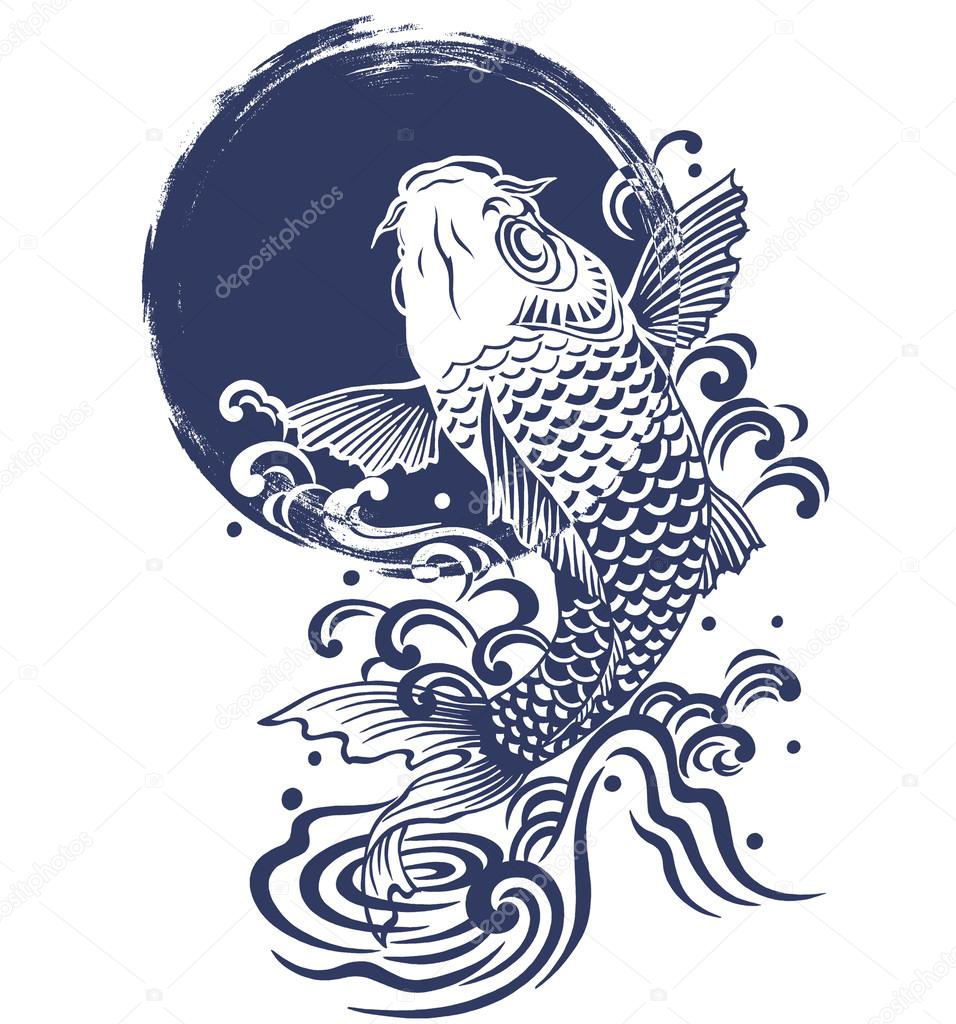 Japanese carp — Stock Photo © daicokuebisu #13751490