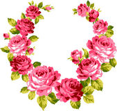 Ramillete de rosa, — Vector de stock