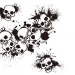 ������, ������: Splatter and the skull