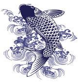 Japanese carp — Διανυσματικό Αρχείο