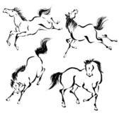 Oriental horse — Stock Photo