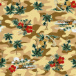 Hawaiiprint — Stock Photo #41740977