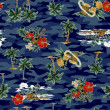 Hawaiiprint, — Stock Photo #41740999