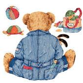 Piękny niedźwiedź — Zdjęcie stockowe