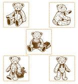 Piękny niedźwiedź — Wektor stockowy