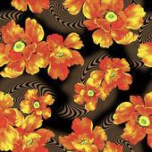 Illustration of flower — Foto de Stock