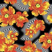 Illustration of flower — Stock fotografie