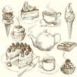Sweet collection - Image vectorielle