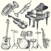 Musikinstrument — Stockvektor