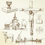 Jesus cristo - cristianismo — Vetorial Stock