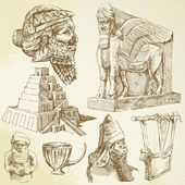 美索不达米亚艺术 — 图库矢量图片