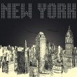 New York — Vector de stock