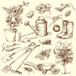 Royalty-Free Stock Vector Image: Gardening tools