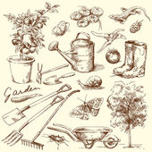 Gardening tools — Vetorial Stock