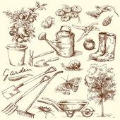 园艺工具 — 图库矢量图片