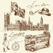 Wektor stockowy : London collection