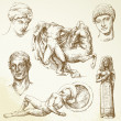 Royalty-Free Stock Vector Image: Hand drawn collection - ancient greece