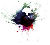 Multicolor stain4 — Stock Photo