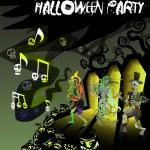 Halloween vector card 8 — Stock Vector