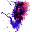 Stock Photo: Multicolor stain2