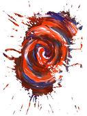 Multicolor stain 23 — Stock Photo