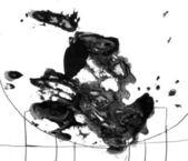 Bläck fläcken — Stockfoto
