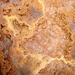 Stock Photo: Corroded soil