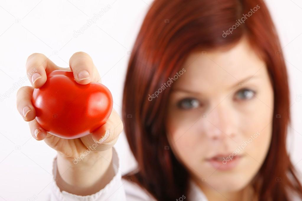 Woman holding tomatoes   Stock Photo #14755293