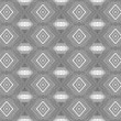 Seamless gray pattern with rhombuses - Stock Photo