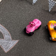 Toys cars - Stock Photo