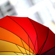 Multicolored umbrella — Stock Photo #16511585