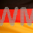 Stock Photo: Germany flag