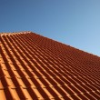 Tile roof - Stockfoto